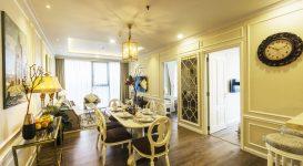 Thiết kế căn hộ 2 phòng ngủ chung cư N03T6 Ngoại Giao Đoàn