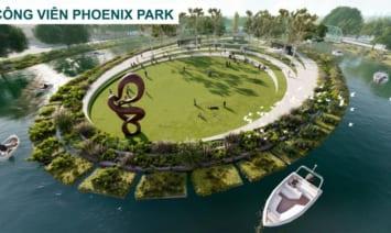 Mặt bằng tổng thể Đảo Phụng Hoàng Phoenix South dự án Aqua City