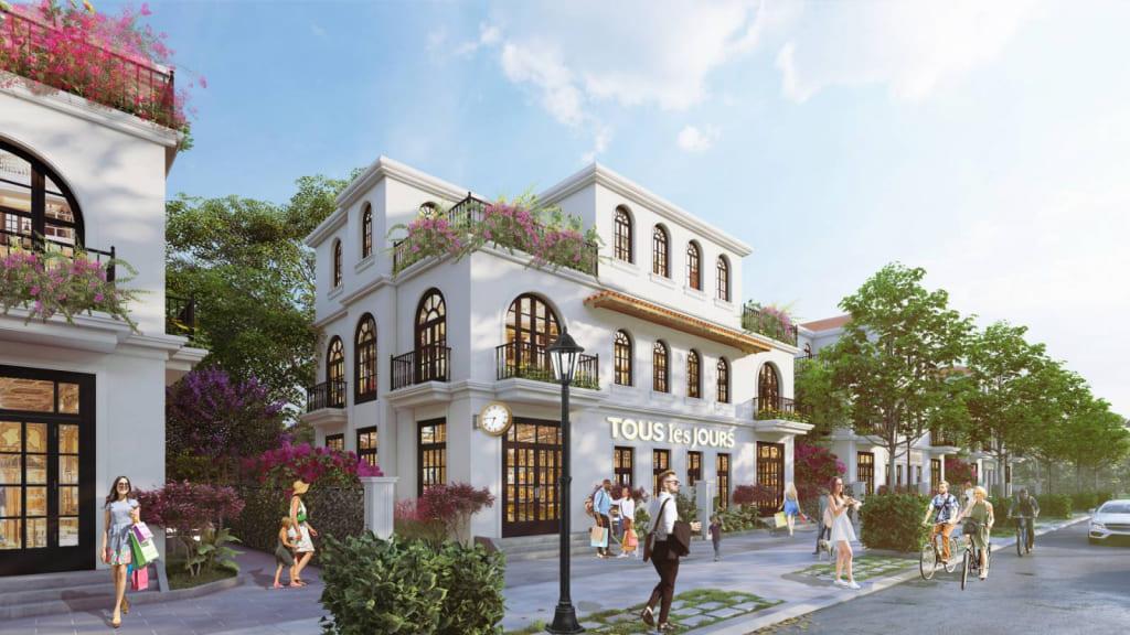 Shop Villas khu du lịch cao cấp Trà Cổ