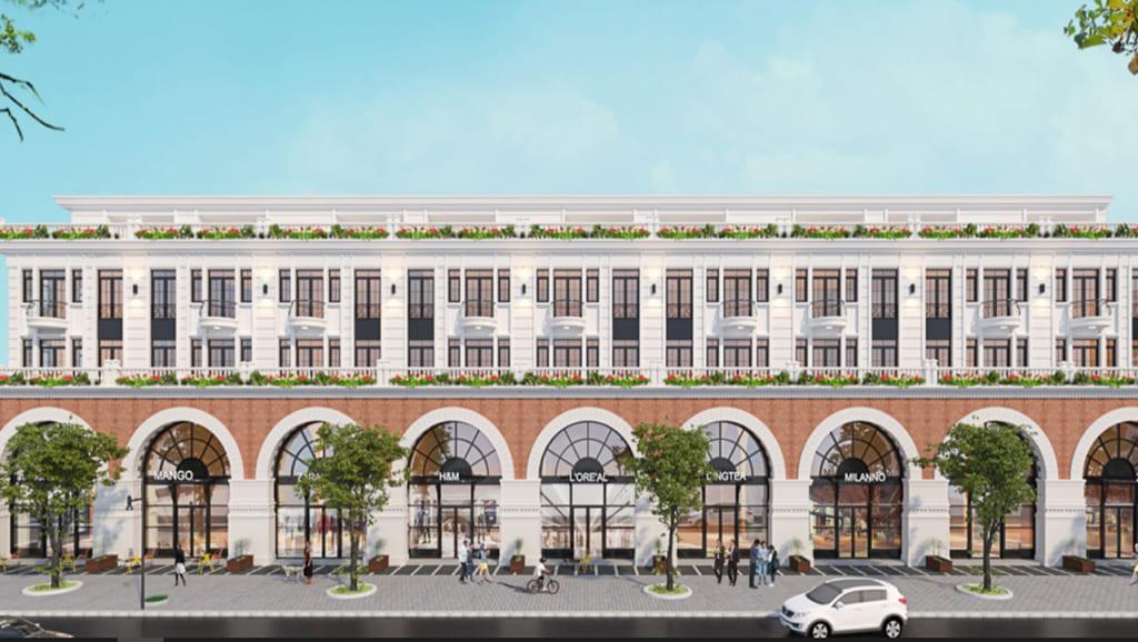 Shophouse dự án Trà Cổ Long Beach