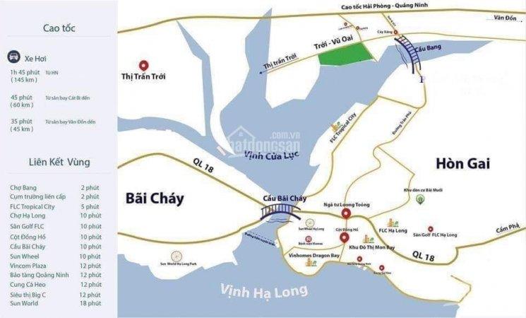 Vị trí dự án Làng Bang Hoành Bồ