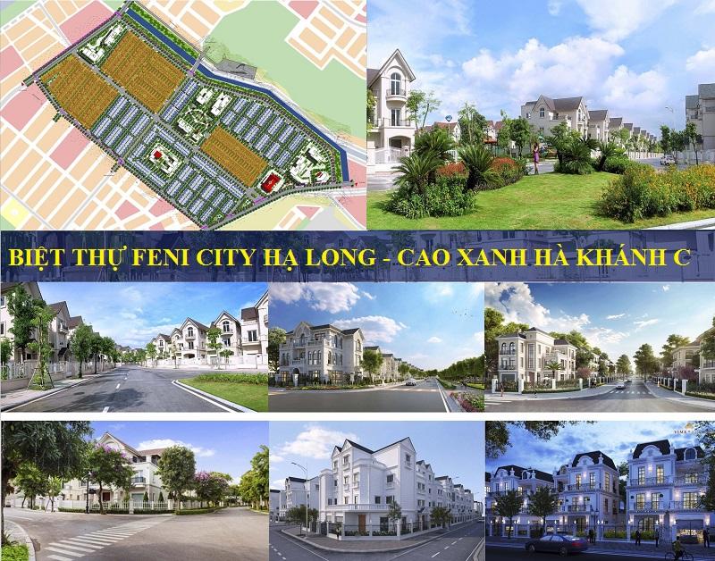 Phối cảnh biệt thự Feni City Hạ Long - Hà Khánh C
