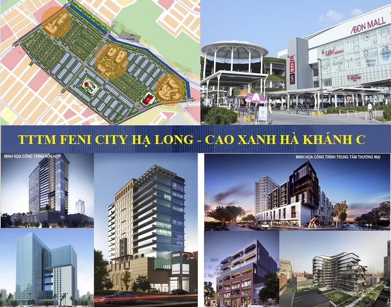 Phối cảnh TTTM Hà Khánh C Hạ Long