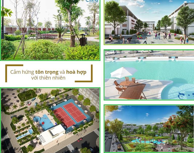 Tiện ích dự án TNR Uông Bí Quảng Ninh