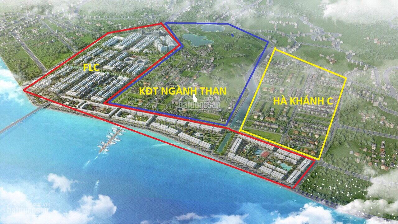 Vị trí dự án khu đô thị nghành than Hà Khánh