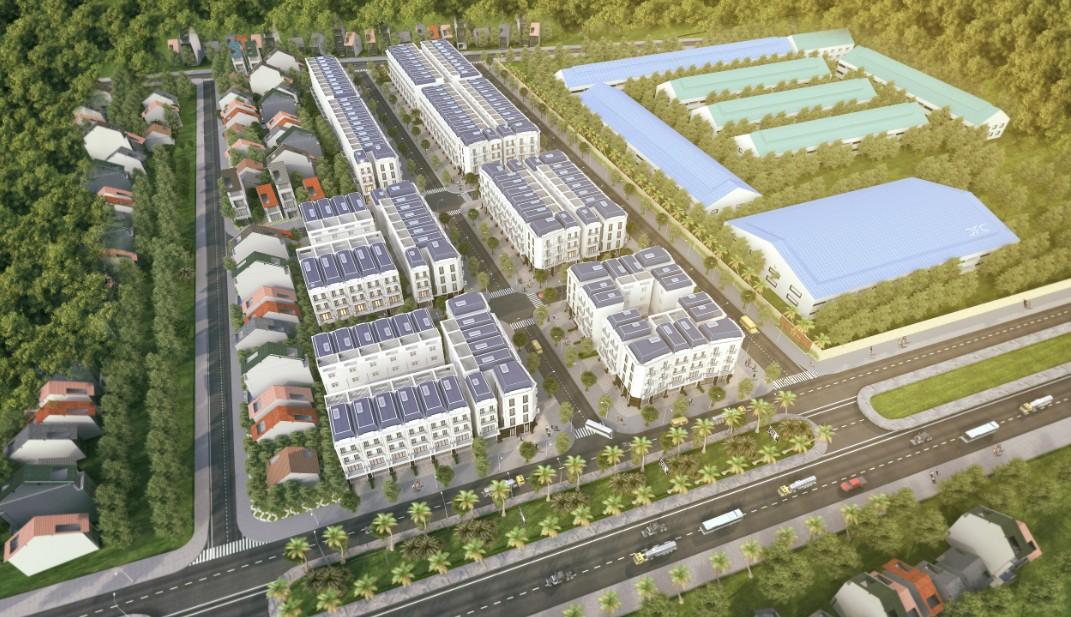 Phối cảnh dự án MidTown Uông Bí